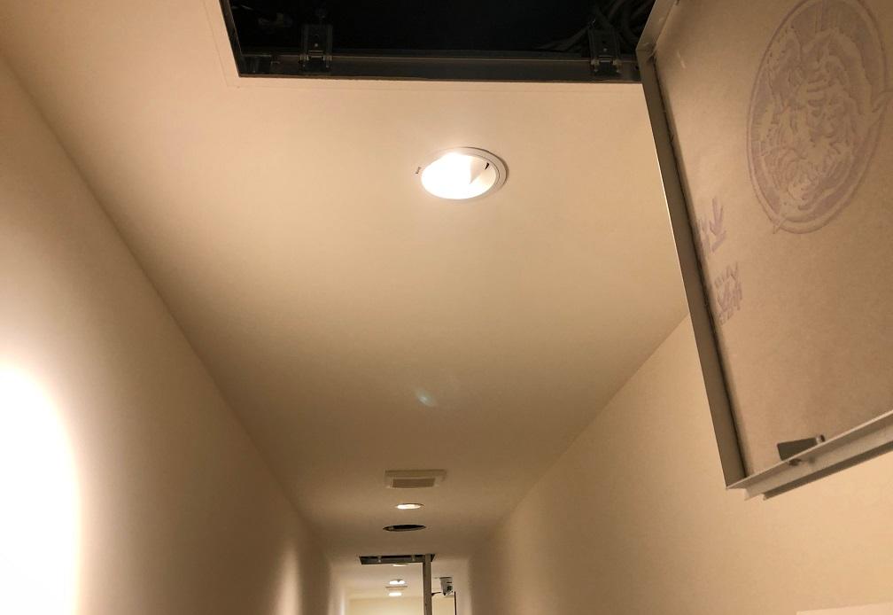 天井裏配線