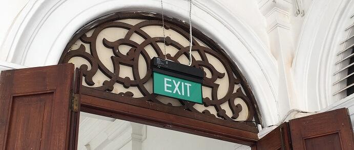 誘導灯誘導標識