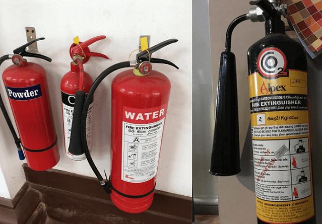 スリランカの消火器