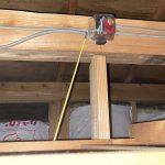 非耐火構造の天井裏