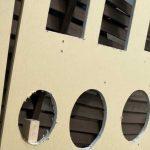 石膏ボードの開口と補修の練習