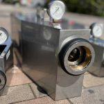 屋内・屋外消火栓の放水試験とエポ