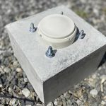 火災感知器をコンクリートに固定【アンカー・プラグの練習】