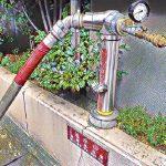 連結送水管の設置基準と耐圧試験について