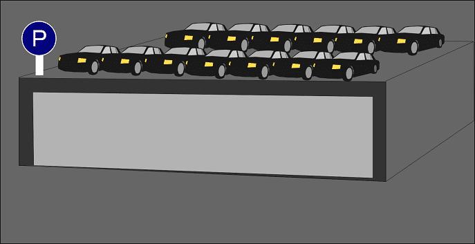 13項イ、駐車場