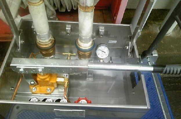 消火栓ホース耐圧試験