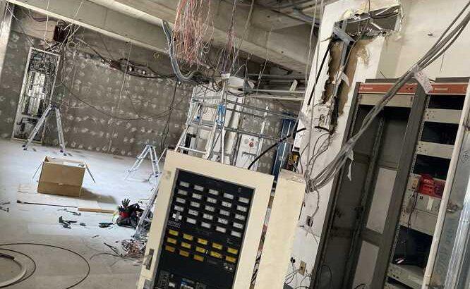 火災受信機移設交換